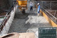 宮前火山砂防工事 施工