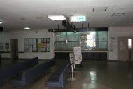 千曲病院大規模改修工事 着工前 受付