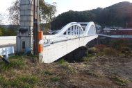 栄橋〔土木遺産〕補修工事